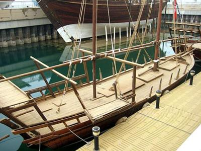 Jaboot Pearling Dhow (photo by Kari)