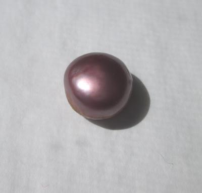 12 carat Purple USA Natural Freshwater Pearl 13mm