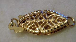 14K Gold clasp