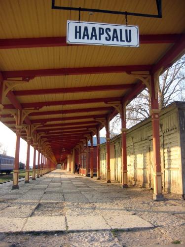 Haapsalu Estonia train station