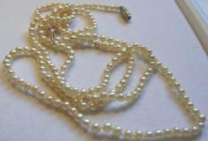Natural Persian Gulf Pearl Necklace