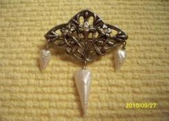 USA freshwater pearl Brooch