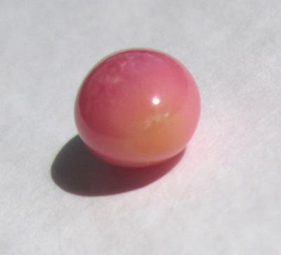 3.75 Pink Conch Pearl with Full Flame