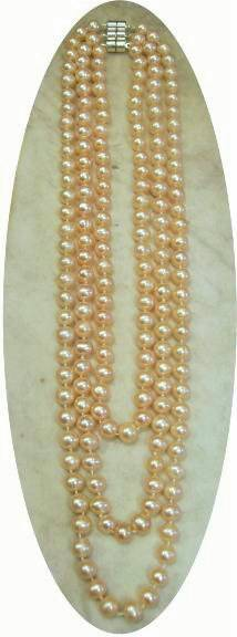 large pink pearls