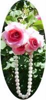 3 roses pearls