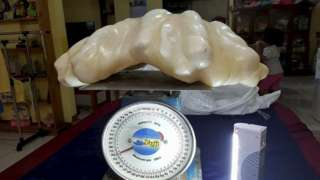 34 kilogram pearl - New World Record
