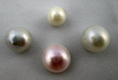 4 Colorful Mississippi River Pearls