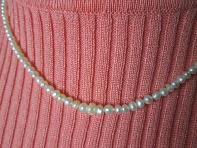 43 carats Basra pearl Necklace