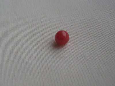 4mm RED Conch Pearl
