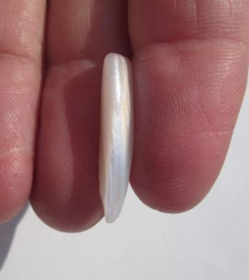 6+ carat Spike 24mm USA Natural Freshwater Pearl