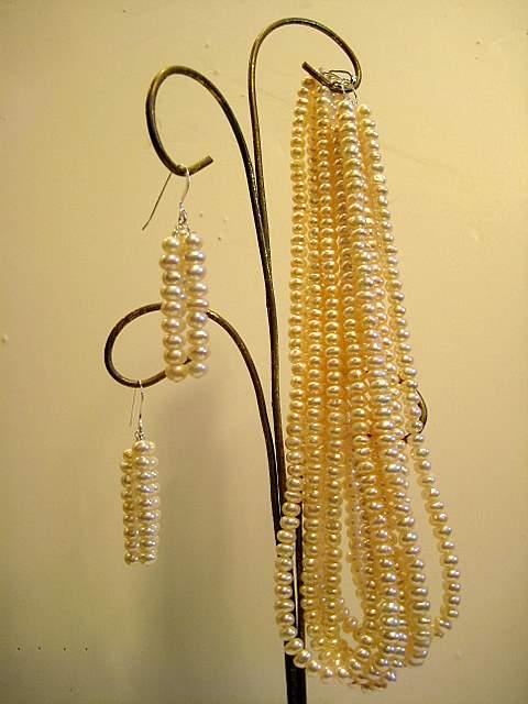 6 strand pearl set