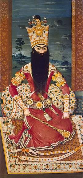 Shah of Persia Fath Ali
