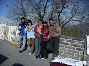 Great Wall of China Workers