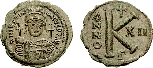 Justinian coin