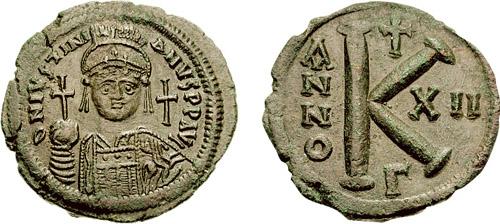 Justinian coin