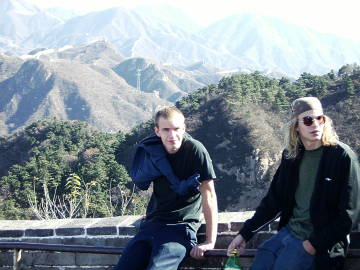Sam Matt Great Wall of China