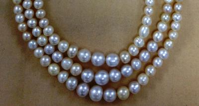 Antique Basra Pearl Necklace 170 Carats