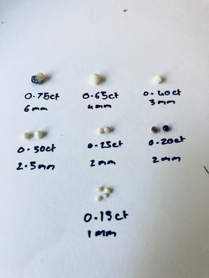 Aussie black mussel pearls