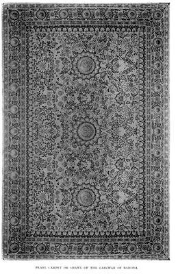 Baroda Pearl Carpet India