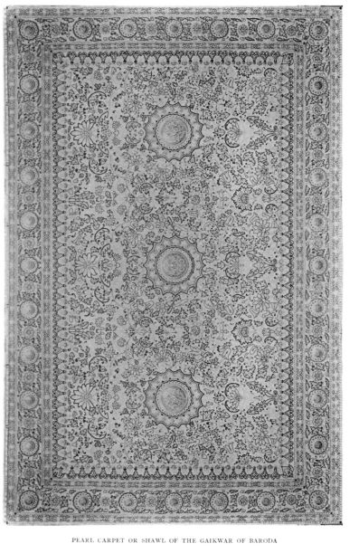 Baroda pearl carpet