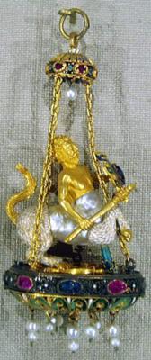 Baroque Pearl Centaur Half Horse & Half Man