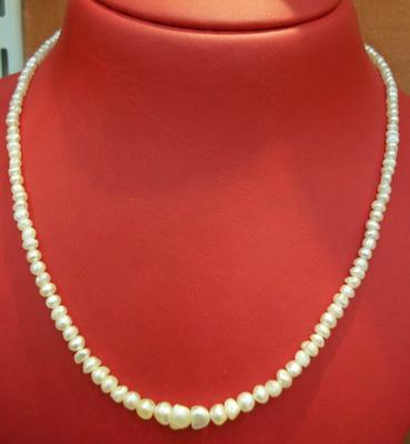 Basra Natural Pearl Necklace -  48.58 carats