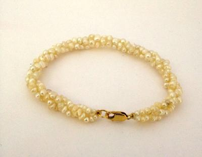 Natural Persian Gulf Pearl Bracelet