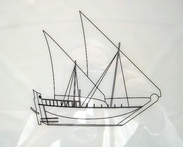 Batteel Dhow Diagram