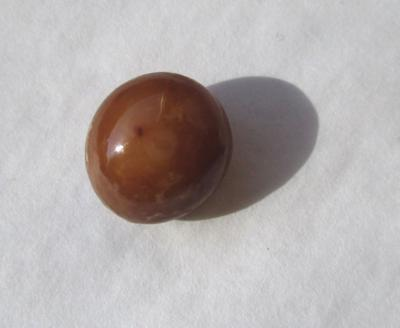 Brown Conch Pearl 5.70 carat Button Shape