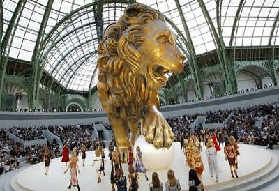 Chanel Lion with Pearl (AFP photo)