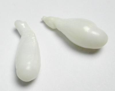Clam Pearl Pair Drop Shape 20+mm