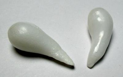Clam Pearl Pair Matched Curved Drops 17+mm for Sale