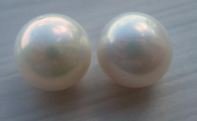 Exquisite USA Natural Freshwater Pearls - Matching Pair, very rare