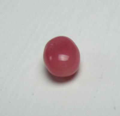 Conch Pearl Dark Pink Oval 6mm