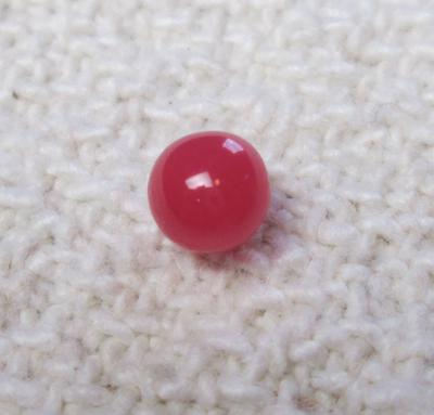 Conch Pearl Near Round Dark Pink 5mm