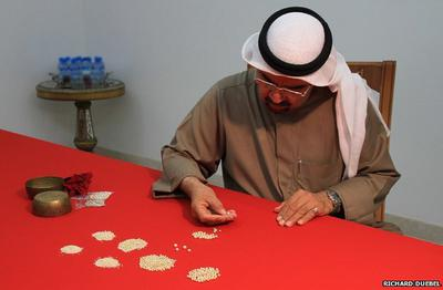 Traditionally, Bahraini pearl merchants have been able to spot a natural pearl just by looking at it.