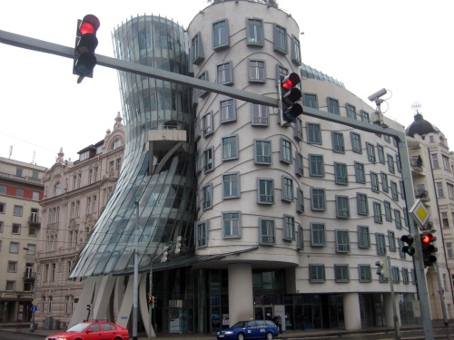 Dancing House Prague Frank Gehry