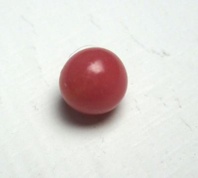 Dark Pink Conch Pearl Near Round 6mm 1+ Carats