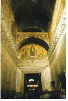 Decorations of Mosaics Hagia Sophia Istanbul