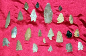 Denny Family Arrowhead Collection