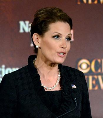 Michelle Bachmann in Pearls  <I>Photo: AP</I>