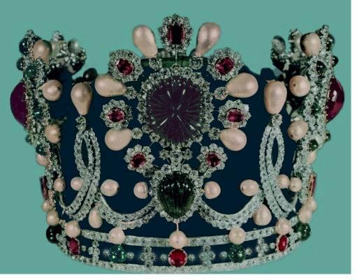 Empress Farah Crown Iran