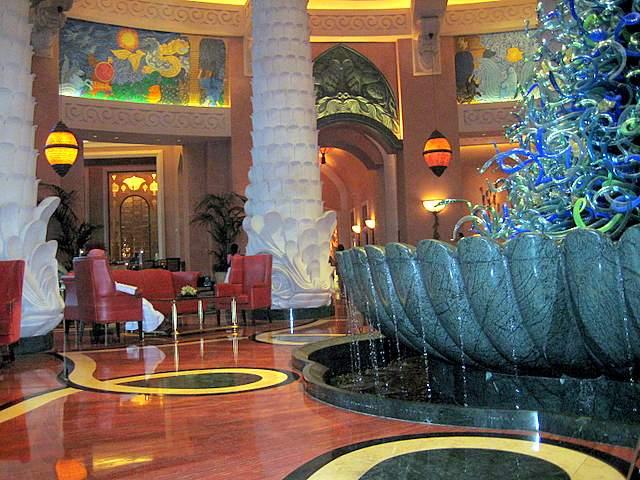 Fountain Atlantis the Palm Hotel Dubai