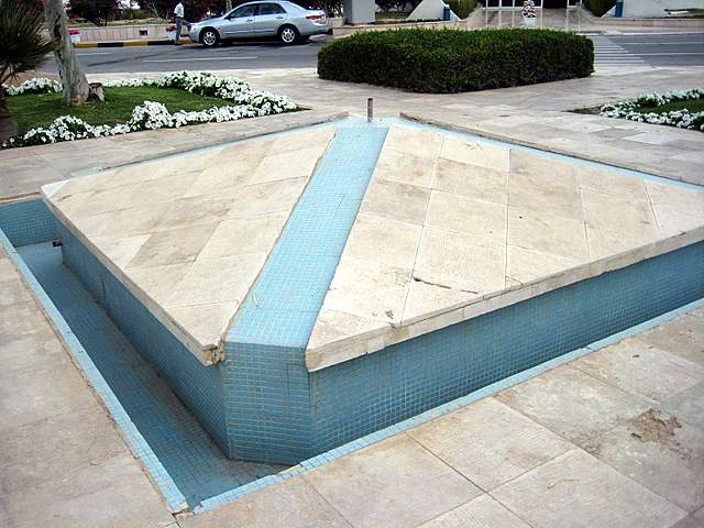Dry fountain Kish