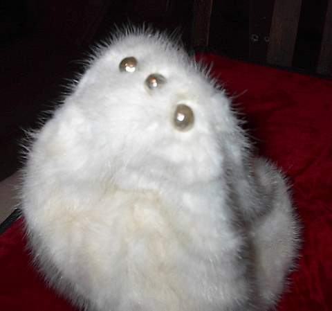 Fur Hat Pearls