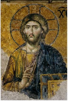 Jesus Hagia Sophia Istanbul