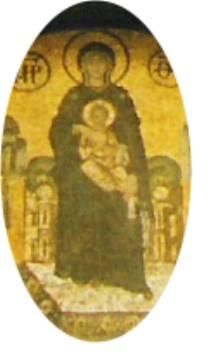 Jesus in Hagia Sophia
