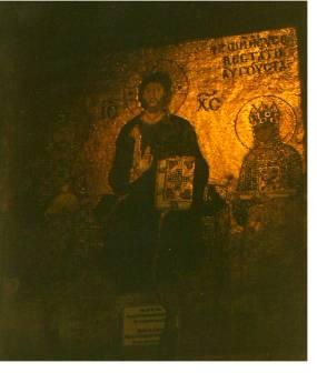 Jesus Mosaics Hagia Sophia Istanbul