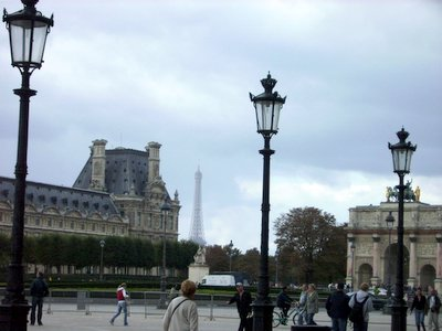 Lamp Posts at Louvre