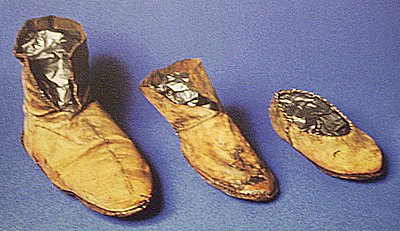 Leather Viking Shoes from York England